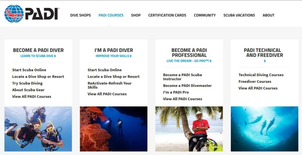 The Dive Bus Curaao 5 Reasons To Choose Padi For Your Dive Course