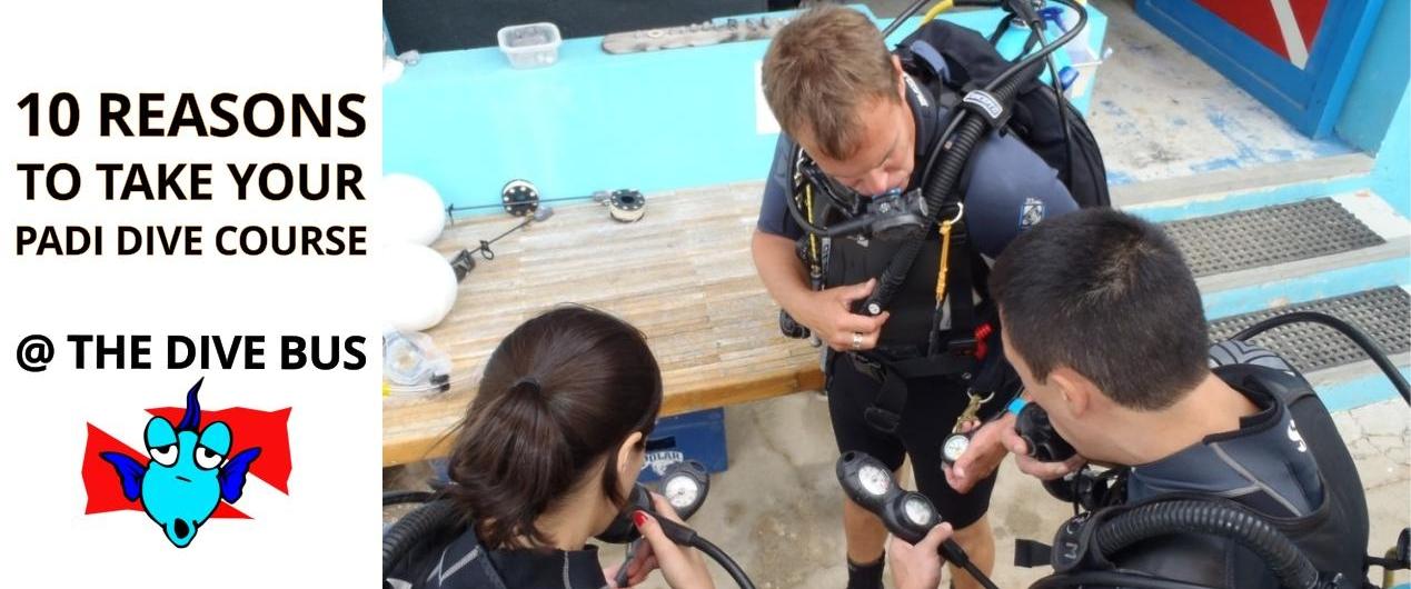 10 reasons PADI dive course TDB